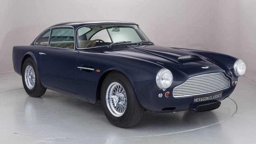 Aston Martin DB4 pré-production
