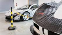 McLaren F1 service center in Philadelphia