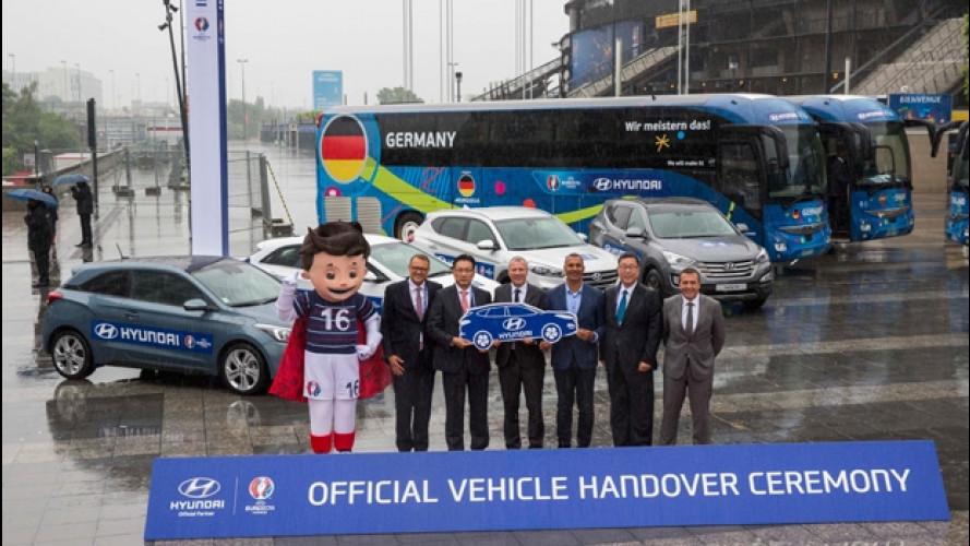 UEFA EURO 2016, le auto ufficiali sono Hyundai
