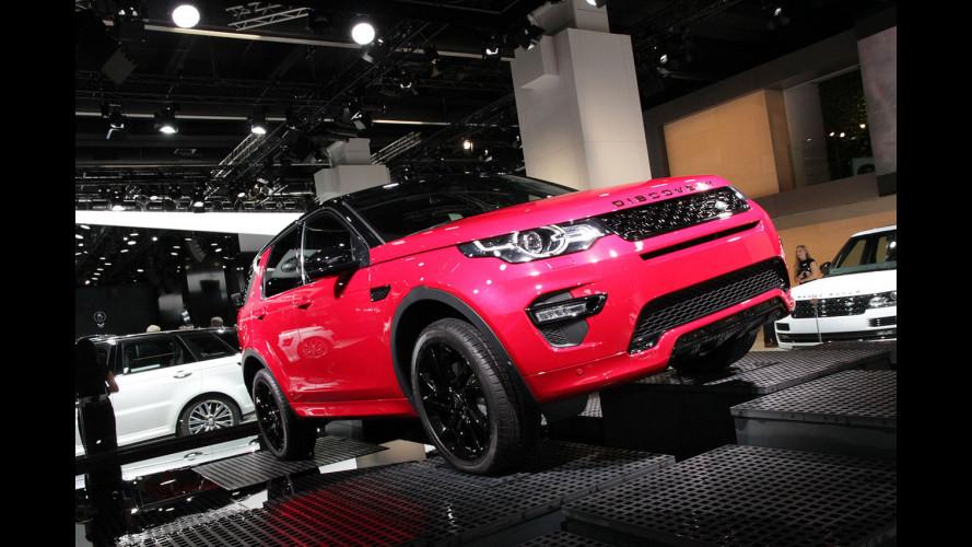 Land Rover al Salone di Francoforte 2015