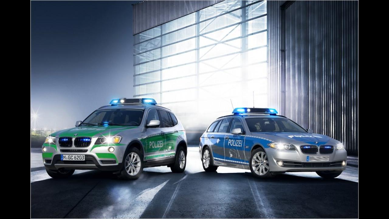 Zwei für die Polizei