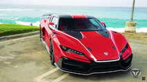 Italdesign Zerouno in California
