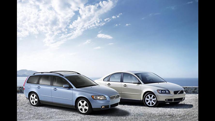 Volvo S40 und V50 bekommen neue Einstiegsmotoren
