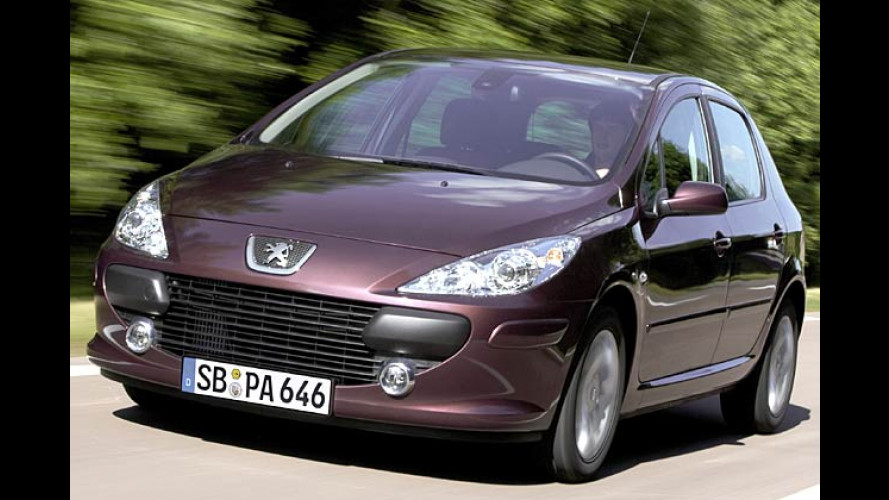 Neu: Motor unter 100 PS mit Rußpartikelfilter im Peugeot 307