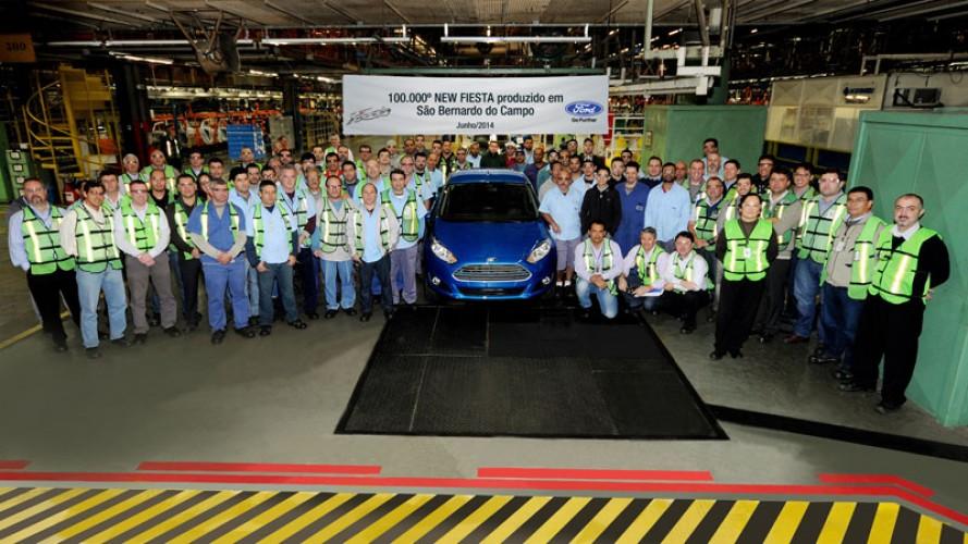 Bom de loja: Ford New Fiesta alcança 100 mil unidades produzidas no Brasil