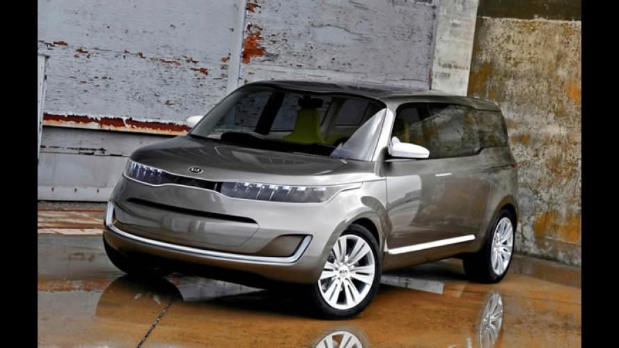 Detroit: Kia apresenta conceito KV7 - Motor 2.0 Turbo tem 285 cv!