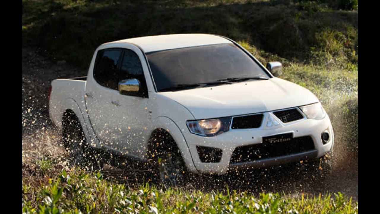 Picape Mitsubishi L200 Triton 2011 chega com novidades