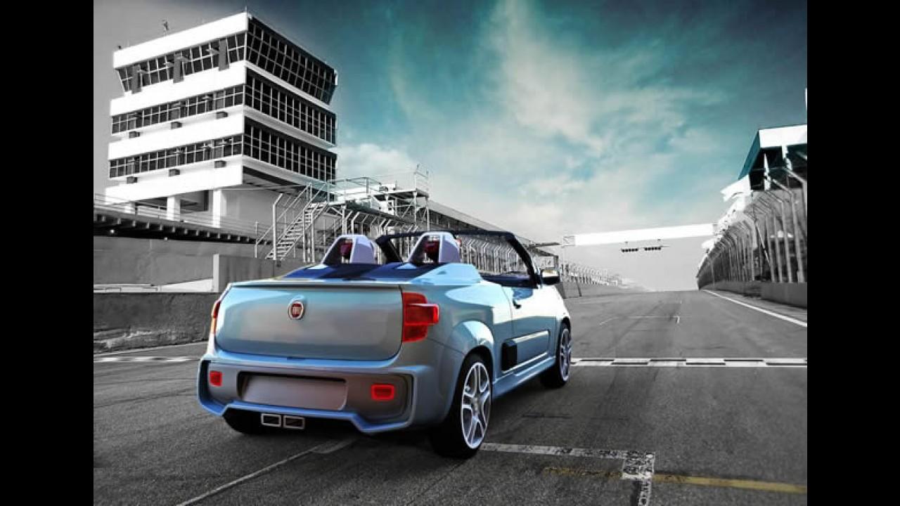 Salão do Automóvel: Fiat apresenta o Uno Cabrio 1.4 T-Jet