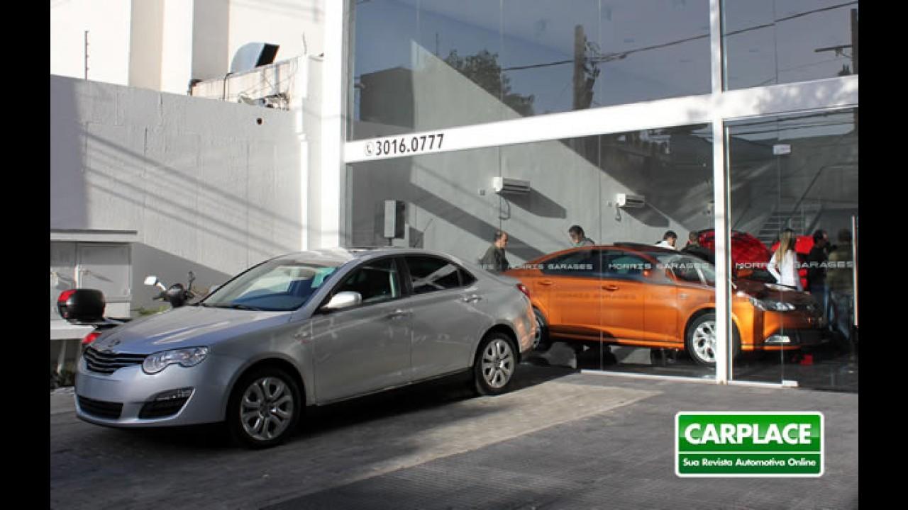 MG Motors inaugura sua primeira loja no Brasil - MG550 e MG6 chegam com 7 anos de garantia