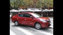 MÉXICO, outubro: Nissan Versa é o 2º mais vendido