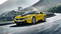 BMW i8 Protonic Frozen Black ve Yellow