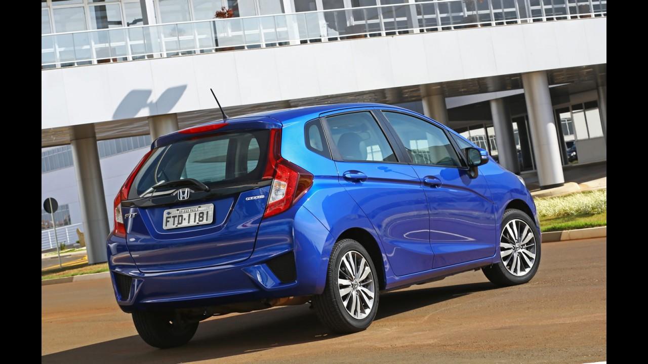 Líder do segmento, Honda Fit chega a meio milhão de unidades vendidas no Brasil