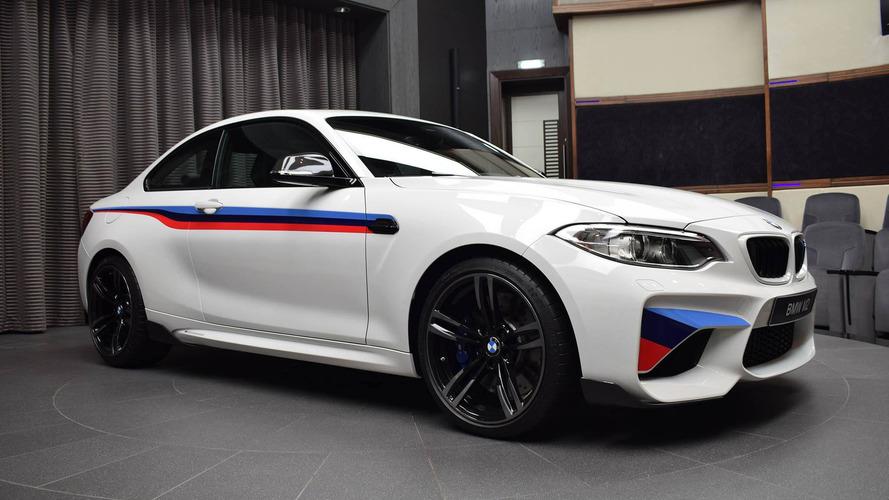 Cette BMW M2 Coupé est probablement l'une des plus chères