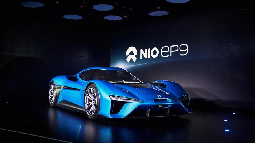 Nio EP9, dört elektrik motoruyla görücüye çıktı