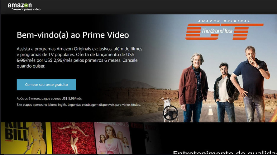 The Grand Tour é arma da Amazon Prime para chegar ao Brasil