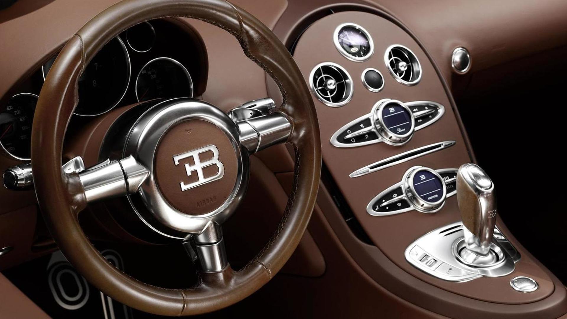 Кожаный салон Bugatti Veyron Ettore Bugatti Edition