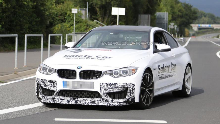 Lightweight BMW M4 GTS spied?