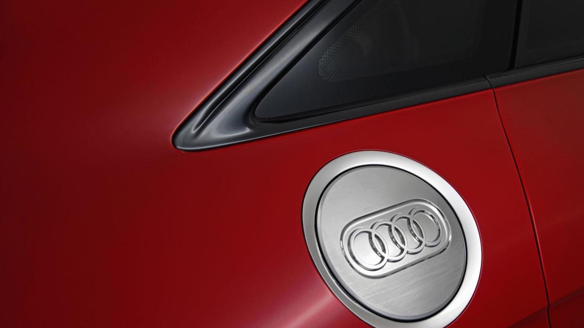 Крышка бака Audi TT Sportback Concept