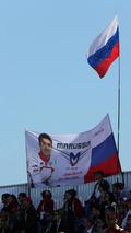 Fans of Jules Bianchi (FRA) / XPB