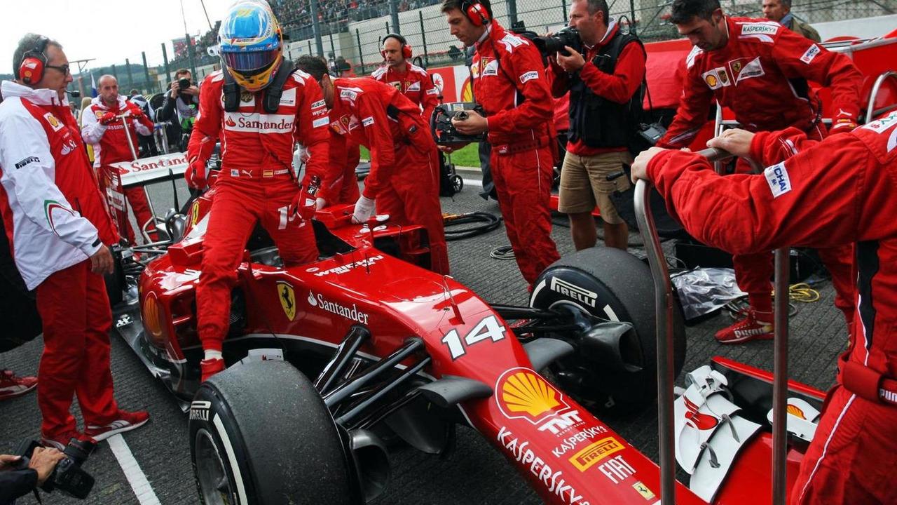 Fernando Alonso (ESP), 24.08.2014, Belgian Grand Prix, Spa Francorchamps / XPB