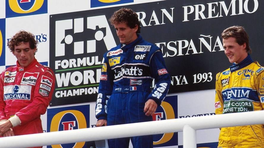 Fórmula 1: Quando Prost, Senna e Schumacher dividiram o pódio há 25 anos