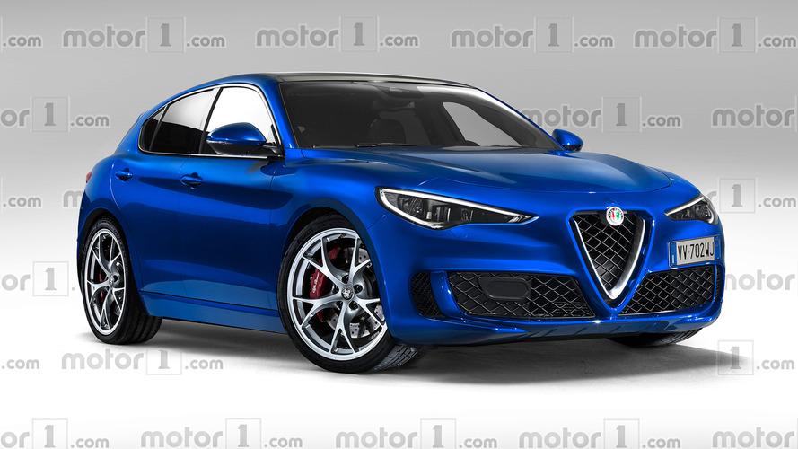 Notre illustration de la future Alfa Romeo Giulietta