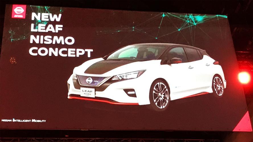 Nissan LEAF NISMO Concept, ¿conceptos antagónicos?