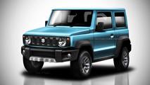 Suzuki Jimny 2018 - Projeções