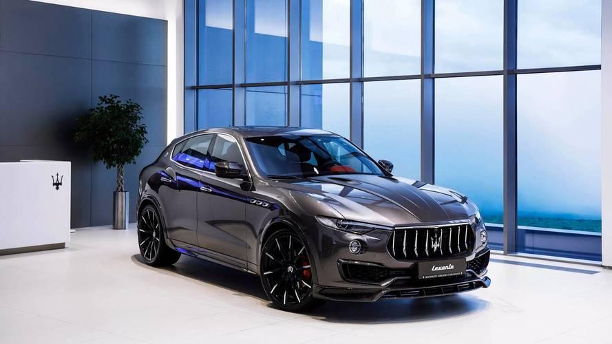 LARTE Design enfourche le Maserati Levante avec ce nouveau kit