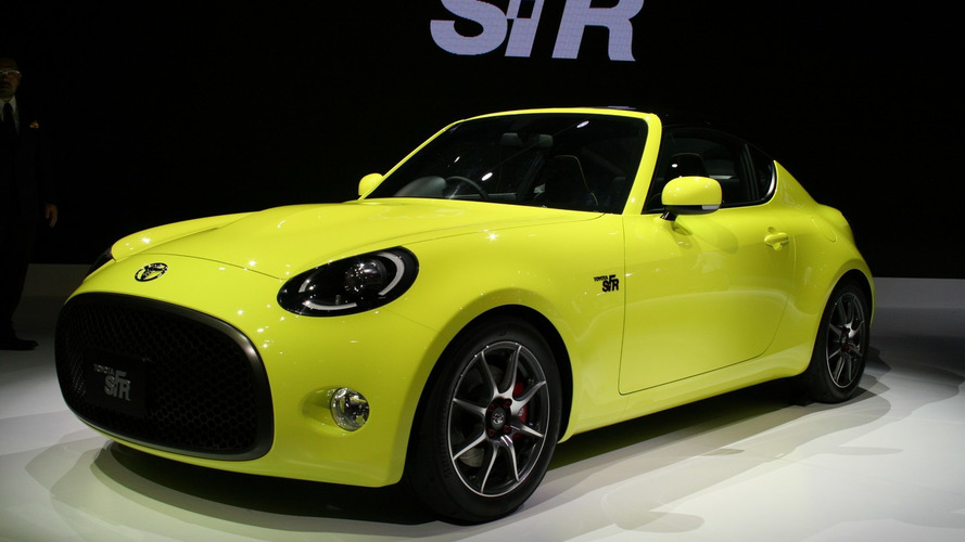 Toyota S-FR concept arrives in Tokyo ahead of next year's rumored launch [live pics]