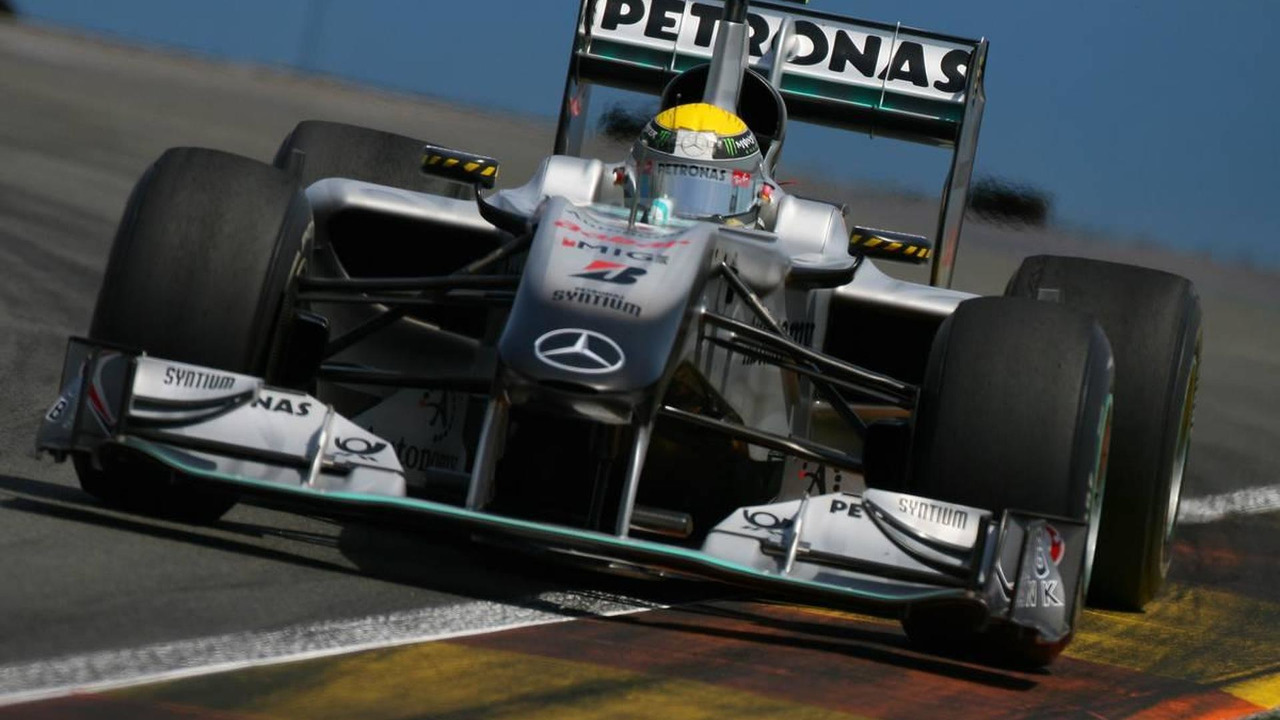 Nico Rosberg (GER), Mercedes GP Petronas, European Grand Prix, Friday Practice, 25.06.2010 Valencia, Spain