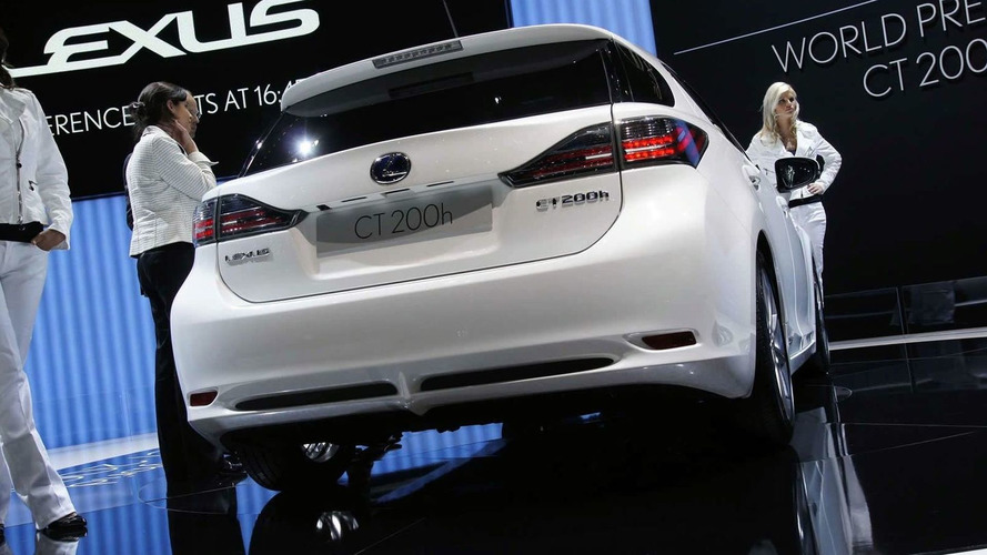 Lexus CT 200h World Premiere at Geneva Motor Show [Video]