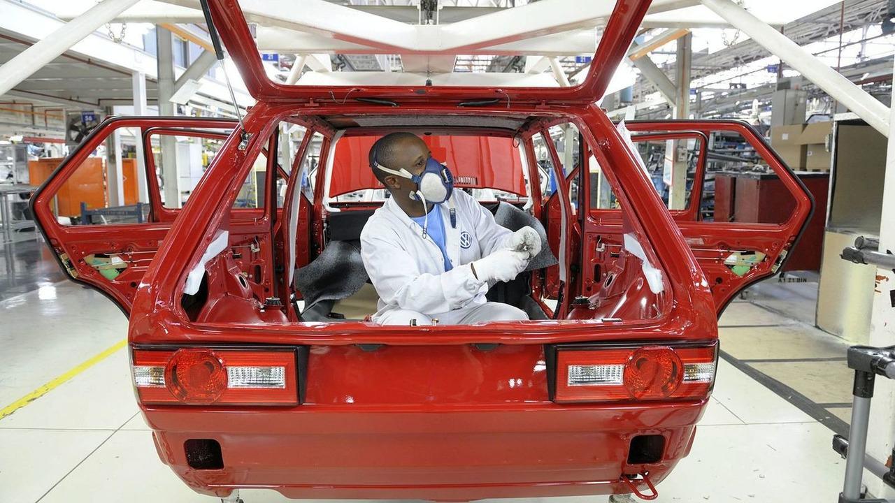 VW Citi Golf Mk1 production