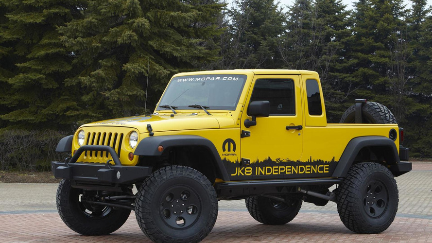 Jeep pickup might not be based on the Wrangler