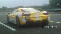 Ferrari 458 Italia spotted again on the road