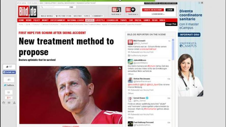 Schumacher, cenni di ripresa e c'è il video dell'incidente