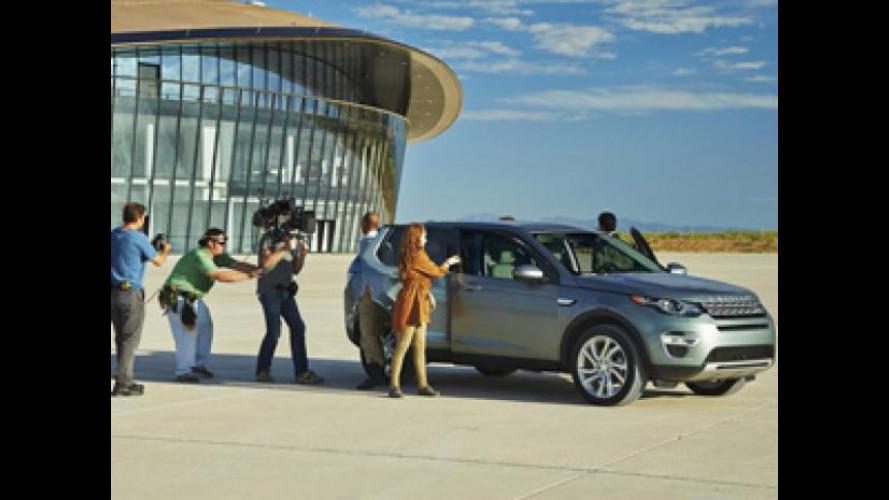 Land Rover Discovery Sport, c'è anche un concorso per visitare lo Spaceport America