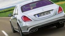 2014 Mercedes S63 AMG leaked?