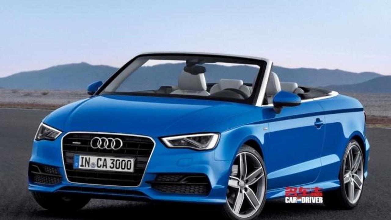 Audi A3 Cabrio leaked photo 06.9.2013