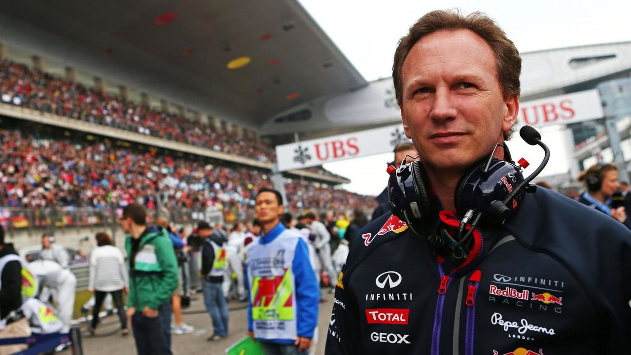 Christian Horner (GBR), on the grid, 20.04.2014, Chinese Grand Prix, Shanghai / XPB