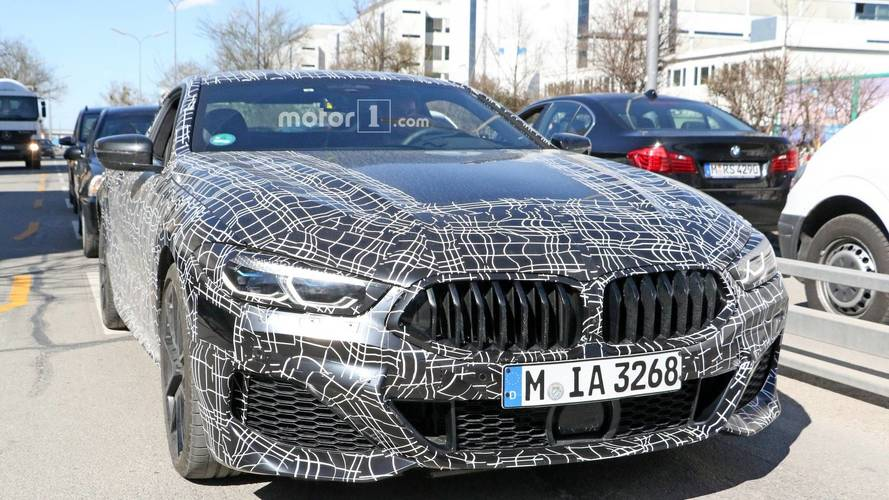 2019 BMW 8 Series Coupe and Convertible spy photos