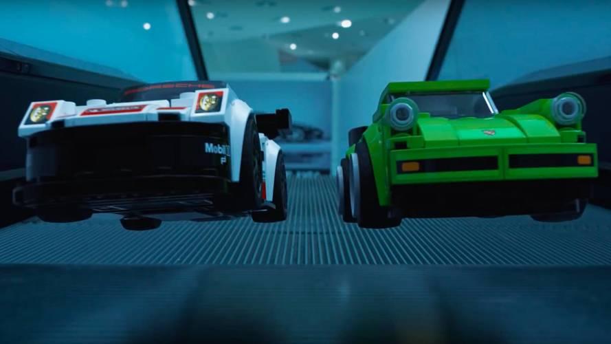 Müzedeki Porsche Lego'ları canlanırsa