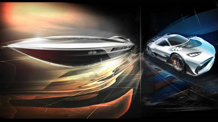 AMG And Cigarette Are Building A Project One-Inspired Powerboat