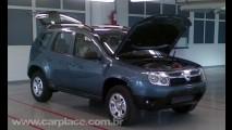 Novo Dacia SUV é flagrado sem disfarces - Utilitário do Logan será feito no Brasil em 2010