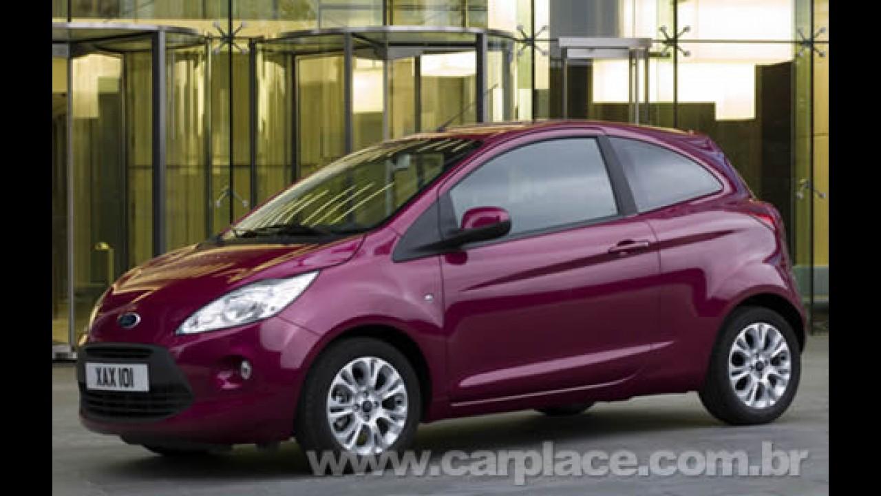 Novo Ford Ka europeu é apresentado ao público e ganha três versões