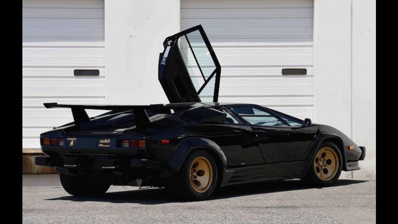 This Lamborghini Countach Has Less Than 10,000 Miles To Its Name