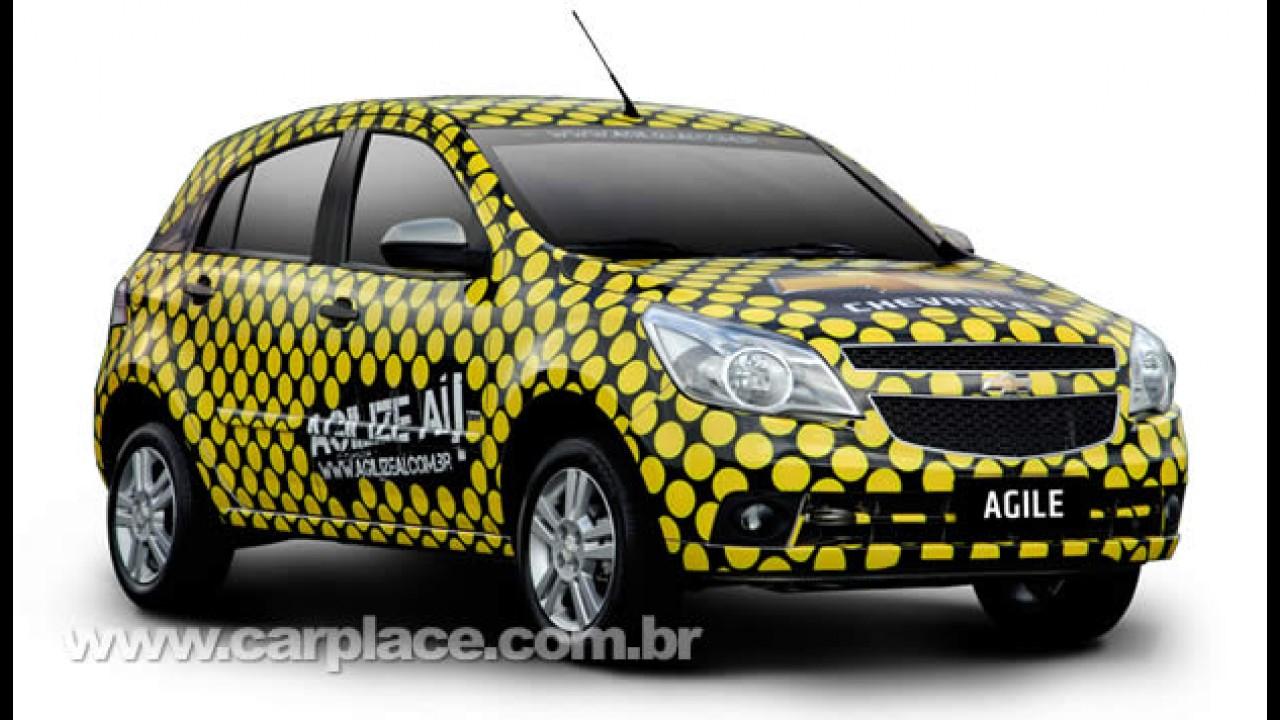 Chevrolet lança campanha de responsabilidade social para promover o Novo Agile
