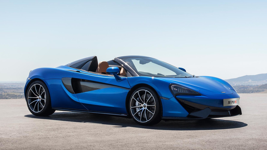 McLaren 570S Spider, performansın yanında açık hava sunuyor