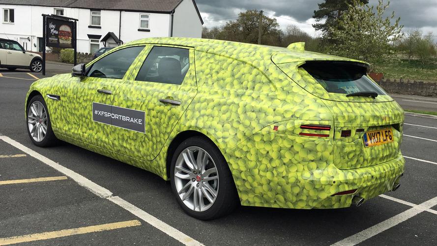 New Jaguar XF Sportbrake Spotted On UK Roads