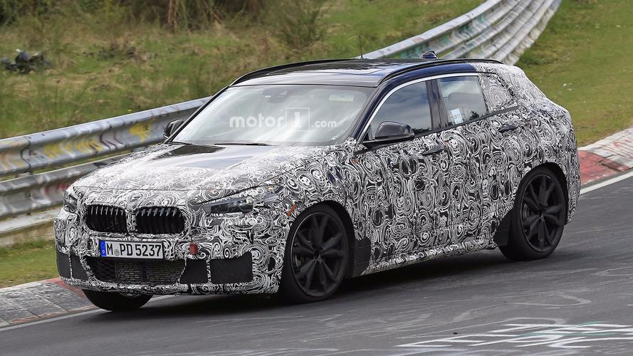 2018 BMW X2 Nürburgring'de alçaktan giderken görüntülendi
